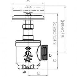 İtfaiye Kat Bağlantı Vanası